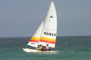 Goa Catamaran sailing